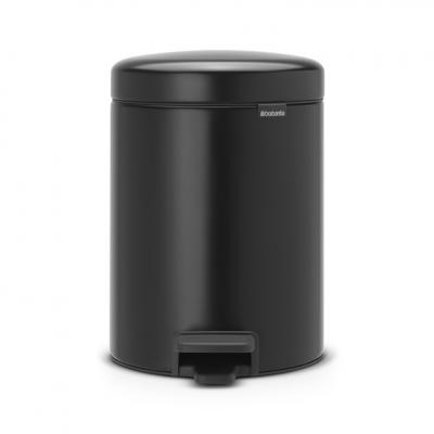 New BRABANTIA Кош с Педал NewIcon Black