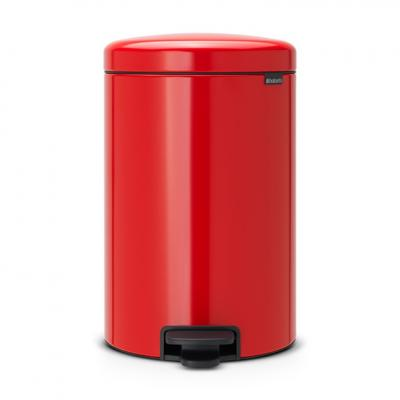 New BRABANTIA Кош с Педал Red 20л