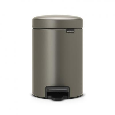 New BRABANTIA Кош с Педал Platinum 3л