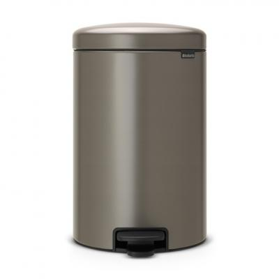 New BRABANTIA Кош с Педал Platinum 20 л